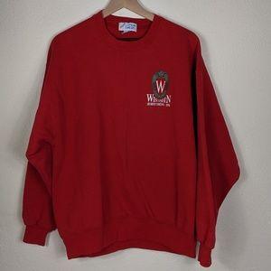 Sweaters - Vintage University of Wisconsin Crewneck Sweater